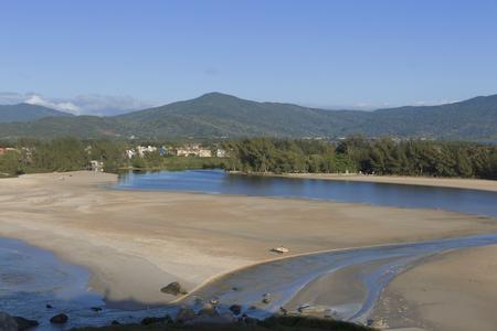 Ferrugem Beach in Santa Catarina Brazil.