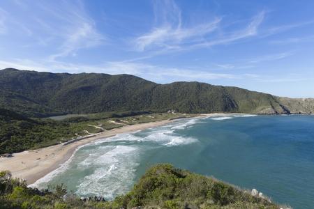Lagoinha do Leste beach in Florianopolis. Imagens