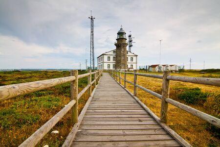phare de Cabo de pois, Espagne