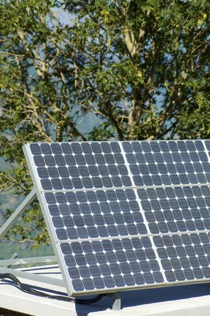 detail of a photovoltaic panel Stock Photo - 5983532