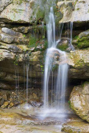 waterfal in Ordesa national Park, Spain photo