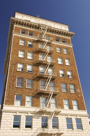 rungs: Classic building in the city of San Francisco; Usa Stock Photo