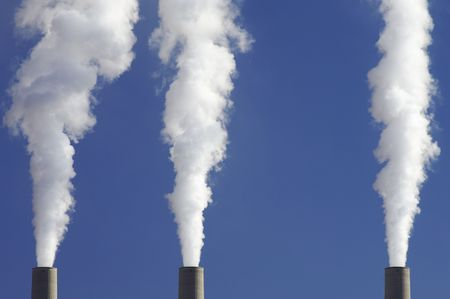 corporate waste: power plant emissions to the atmosphere
