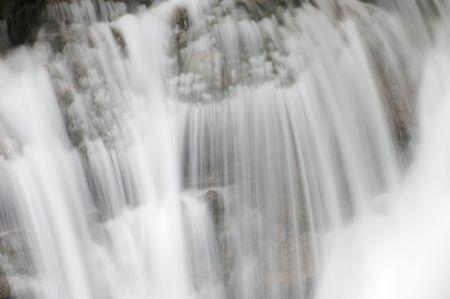 ordesa: Waterfall detail in Ordesa National Park, Spain