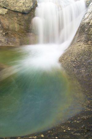ordesa: Waterfall in Añisclo valley; Ordesa National Park