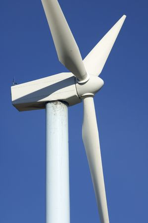 detail of a windmill with blue sky Stock Photo - 6102423