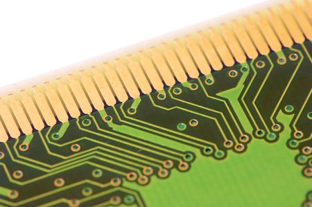 detail of a integrated circuit Stock Photo - 6242024