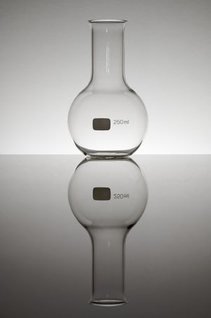 matrass: laboratory spherical bottle two hundred fifty milliliters