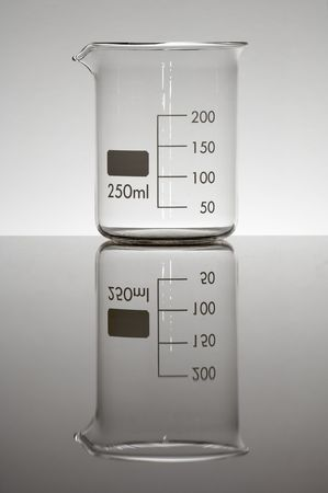 milliliters: beaker two hundred fifty milliliters