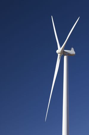 windmill with clear and blue sky photo
