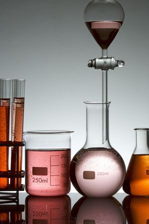 scientifical: detail of a chemical laboratory