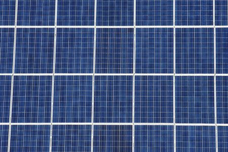 close up of a huge solar panel blue Stock Photo - 6660850