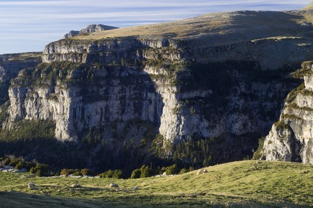 anisclo: Anisclo Valley in Ordesa national Park, Spain