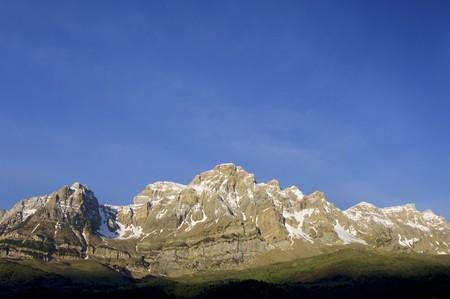 Telera Peak in Partacua Mountains, Pyrenees, Spain photo