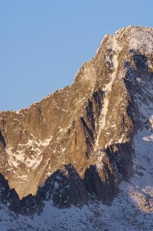 rocky ridge on the southern slopes of the Maladeta Massif, Benasque, Pyrenees, Huesca, Spain Stock Photo - 7770660