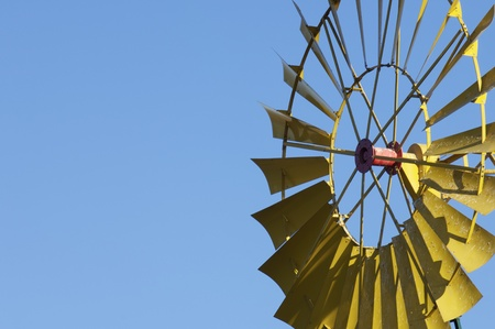 traditional windmill: detail of a traditional windmill for agricultural use