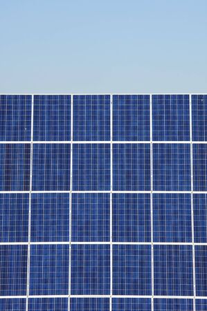 foreground of a photovoltaic panel for renewable energy production Stock Photo - 8632642