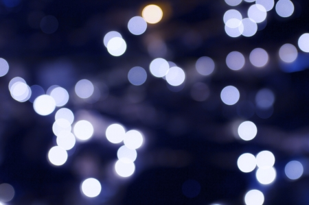 defocused: abstract background  created with blurred lights