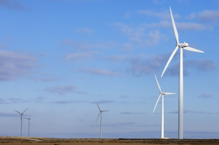windmills for electric power generation alternative Stock Photo - 8679028