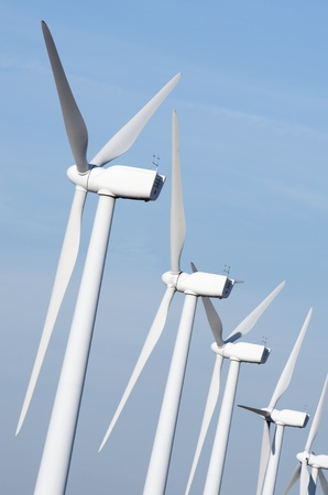 aligned: group aligned modern windmills for renewable electric energy production
