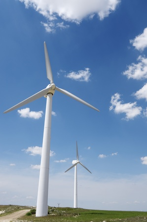 group of  windmills for renewable electric  energy production Stock Photo - 9662095