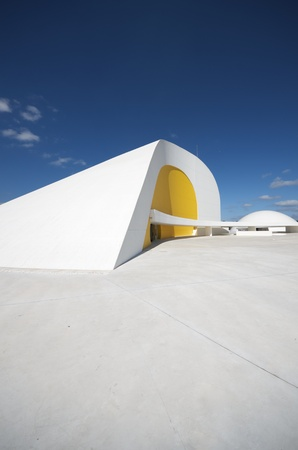 multidisciplinary: Aviles, Spain,  August 10, 2011, designed by Oscar Niemeyer, the Niemeyer Center offers a  multidisciplinary program dedicated to the most diverse art and cultural events. Editorial