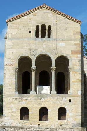 pre romanesque: Church of  Santa Maria del Naranco, Century 9, Oviedo, Asturias, Spain