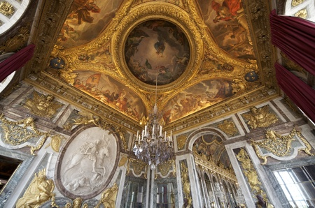 the war room in the palace of Versailles, France