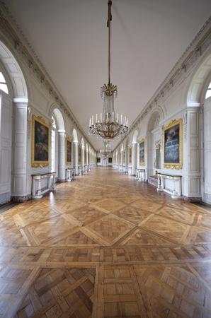 Zimmer im Grand Trianon Palace in Versailles, Frankreich. Das Grand Trianon war ein privater Platz für den König. Editorial