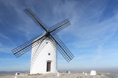 castilla la mancha: windmills in Consuegra, Toledo, Castilla La Mancha, Spain