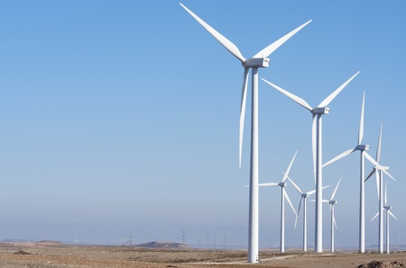 aligned: aligned windmills for renowable electric production with clear sky
