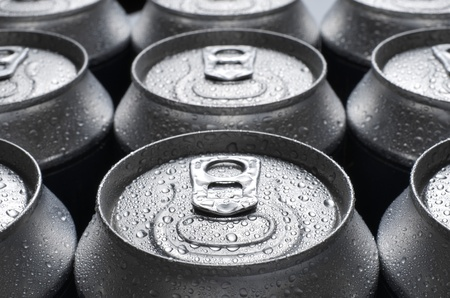 group of an aluminum can of soda Stock Photo - 12081703
