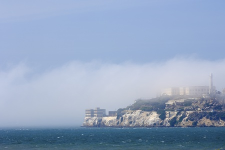 view of the old prison of Alcatraz, San Francisco, California, United States photo