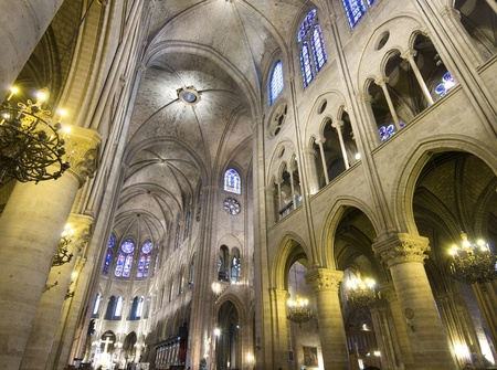 cathedral of Notre Dame in Paris, France Stock Photo - 12662684