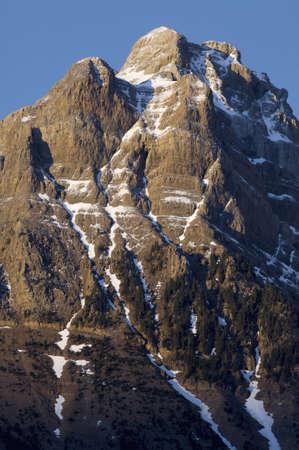 Corona del Mallo Peak in Partacua Mountains, Tena valley, Huesca, Aragon, Pyrenees, Spain photo