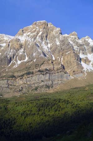 Telera Peak in Partacua Mountains, Tena Valley, Huesca, Aragon, Pyrenees, Spain photo
