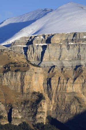 Arruebo peak in Ordesa national park, Pyrenees, Huesca, Aragon, Spain photo