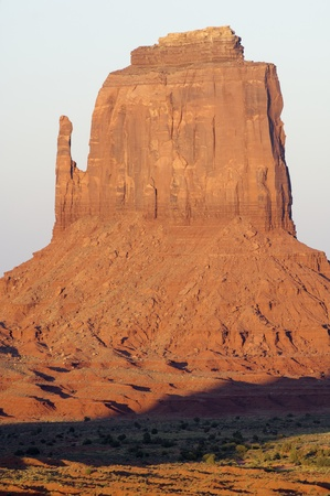 Stone tower in Monument Valley, Utah, Usa Stock Photo - 13333543