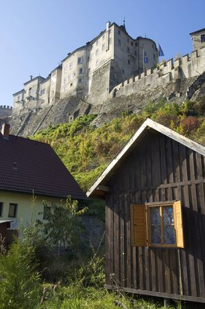 Cesky Sternberk castle in Czech republic photo