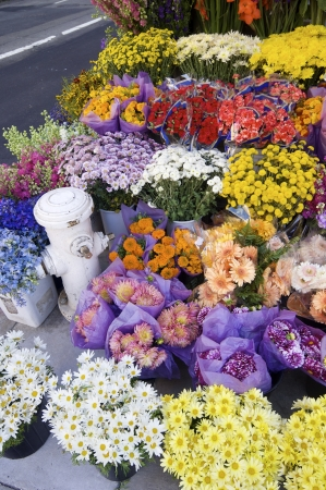 numerous: numerous bouquets of flowers and gifts to be purchased Stock Photo