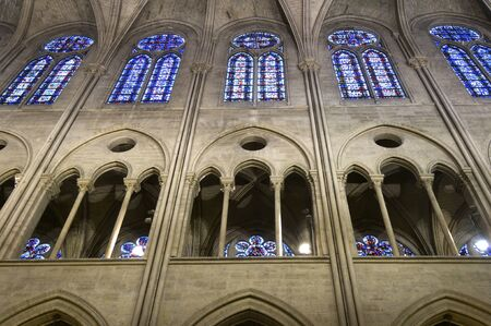 the cathedral of Notre Dame in Paris, France Stock Photo - 14007317