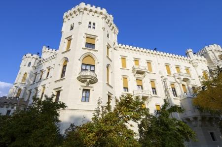 nad': castle neogothic Hluboka nad Vltavou, Czech Republic