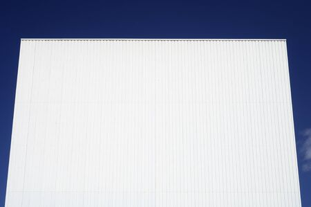 forefront of the facade of an industrial building Stock Photo - 14288914