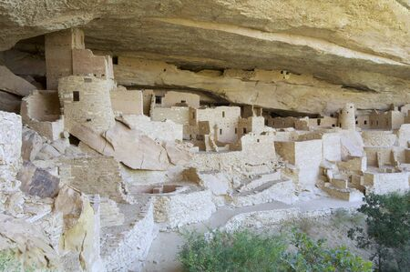 Cliff Palace in Mesa Verde National Park, Colorado, United States photo