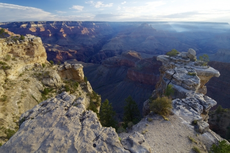 Sunrise in Grand Canyon National Park, Arizona, Usa photo