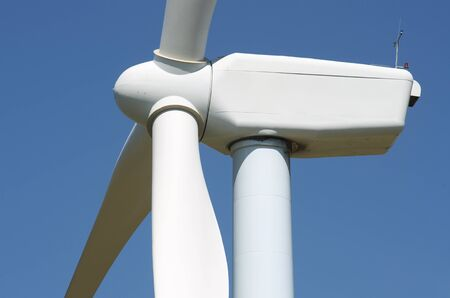 aras: windmill for clean energy production renewable electric, Aras, Navarre, Spain
