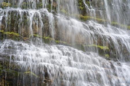 Cola de Caballo waterfall in Ordesa National Park, Pyrenees, Huesca, Aragon, Spain Stock Photo - 16260743