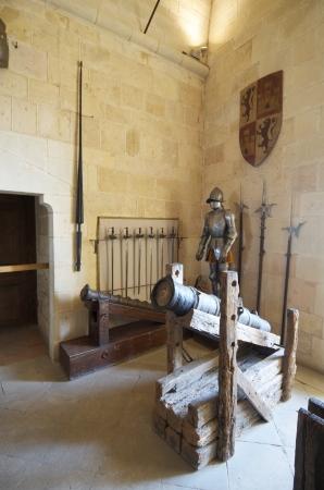 castilla leon: Royal artillery school museum in the Alcazar of Segovia, Castilla Leon, Spain