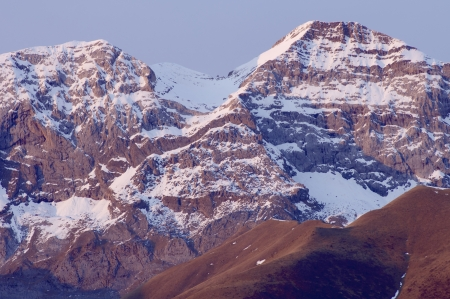 South side of Tendenera peak, 2847 meters, Tena Valley, Pyrenees, Huesca, Aragon, Spain photo