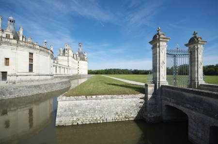 Chambord Castle, Loire Valley, France. Built as a hunting lodge for King Francois I, this castle is the largest and most frequented of the Loire Valley. photo